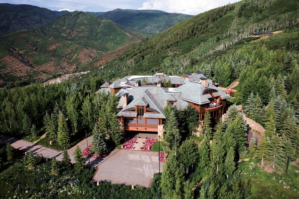 SPECIAL TO THE DENVER POST Hala Ranch , the Aspen home of Saudi Prince Bandar bin Sultan bin Abdulaziz and his wife Princess Haifa, is on the market for $135 million.