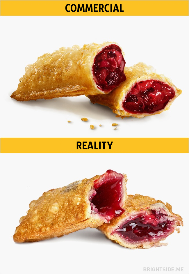 Fast Food Commercials Vs Reality