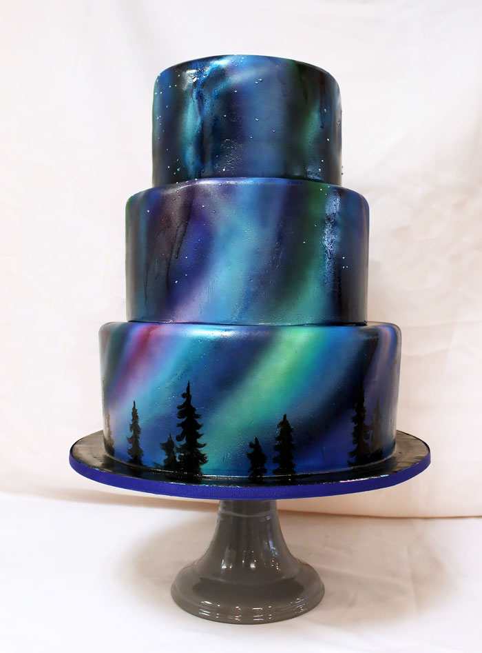 northern-lights-cake