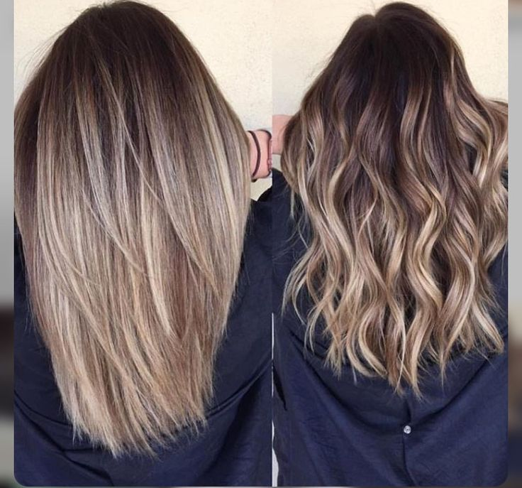 Natural Looking Blonde Highlights On Brown Hair